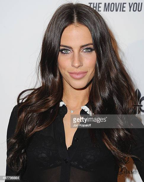 Actress Jessica Lowndes arrives at LOUIS XIII Toasts To '100 Years The Movie You Will Never See' at Sheats Goldstein Residence on November 18 2015 in...