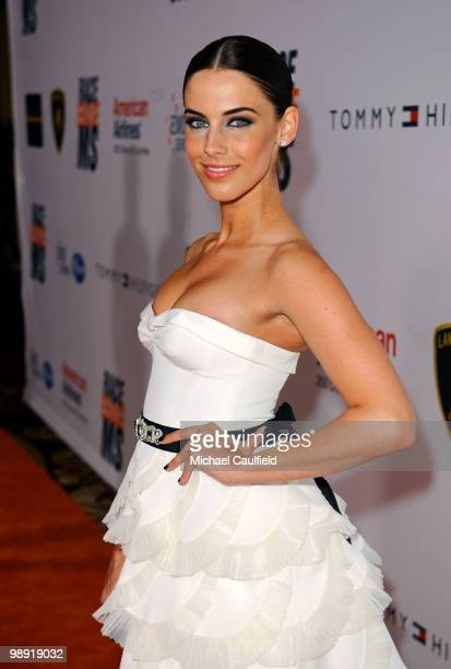 Actress Jessica Lowndes arrives at the 17th Annual Race to Erase MS event cochaired by Nancy Davis and Tommy Hilfiger at the Hyatt Regency Century...