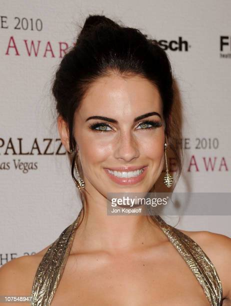 Actress Jessica Lowndes arrives at the 2010 Hollywood Style Awards at Billy Wilder Theater at The Hammer Museum on December 12 2010 in Westwood...