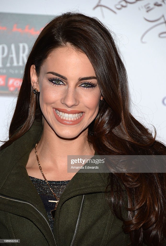 Actress Jessica Lowndes arrives at the 2012 Hollywood Christmas Parade Benefiting Marine Toys For Tots on November 25, 2012 in Hollywood, California.