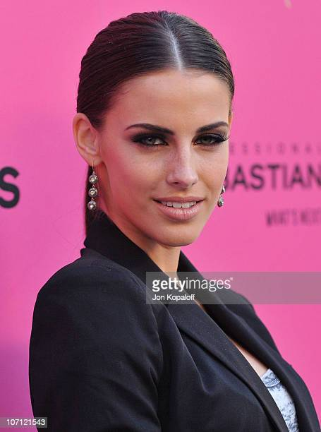Actress Jessica Lowndes arrives at the 6th Annual Hollywood Style Awards at Armand Hammer Museum on October 11 2009 in Los Angeles California