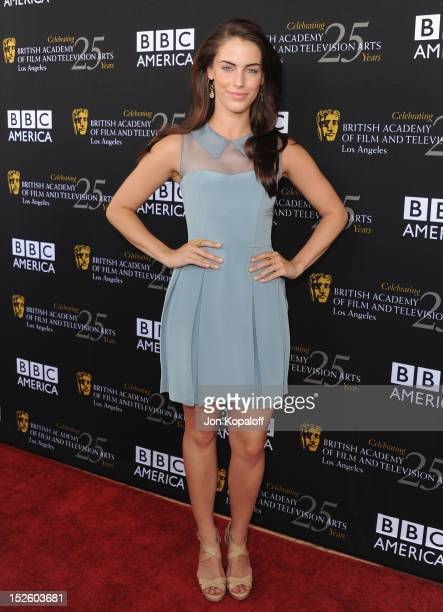 Actress Jessica Lowndes arrives at the BAFTA Los Angeles TV Tea 2012 Presented By BBC America at The London Hotel on September 22, 2012 in West...