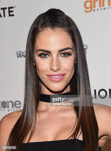 Actress Jessica Lowndes arrives at the special screening of Lionsgate Films' The Prince at the TCL Chinese 6 Theatres on August 18 2014 in Hollywood...