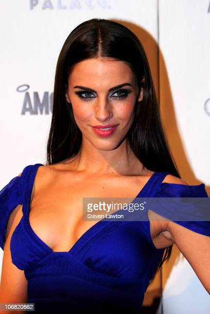 Actress Jessica Lowndes arrives to celebrate her 22nd birthday at the Pure Nightclub at Caesars Palace on November 13 2010 in Las Vegas Nevada