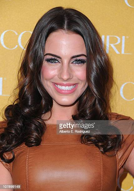 Actress Jessica Lowndes arrives to Covergirl Cosmetic's 50th Anniversary Party on January 5 2011 in West Hollywood California