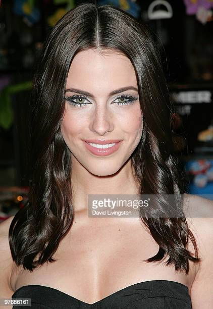 Actress Jessica Lowndes attends a sneak preview for the bebeKardashians Capsule Collection at The Grove on March 13 2010 in Los Angeles California