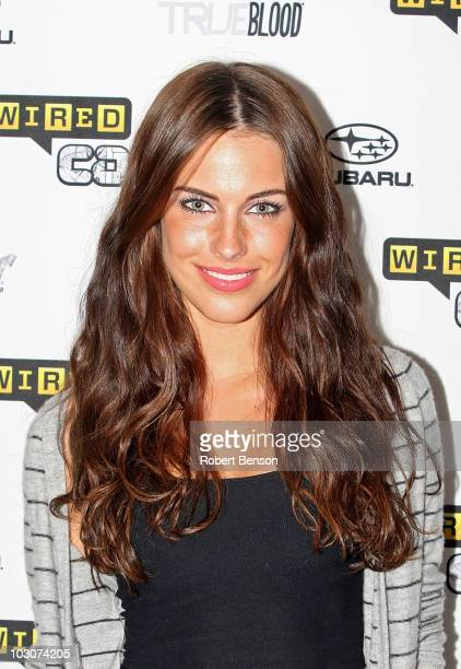 Actress Jessica Lowndes attends Day 3 of the WIRED Cafe at Comic-Con 2010 held at the Omni Hotel on July 24, 2010 in San Diego, California.
