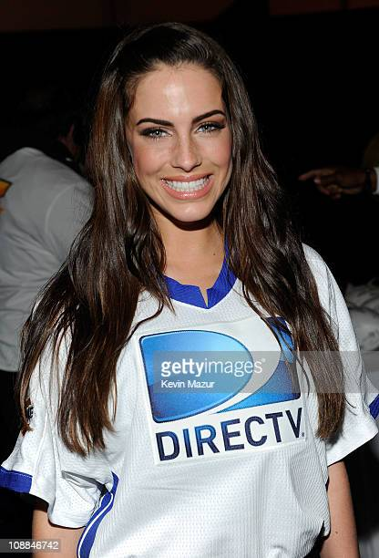 Actress Jessica Lowndes attends DIRECTV's Fifth Annual Celebrity Beach Bowl at Victory Park on February 5 2011 in Dallas Texas