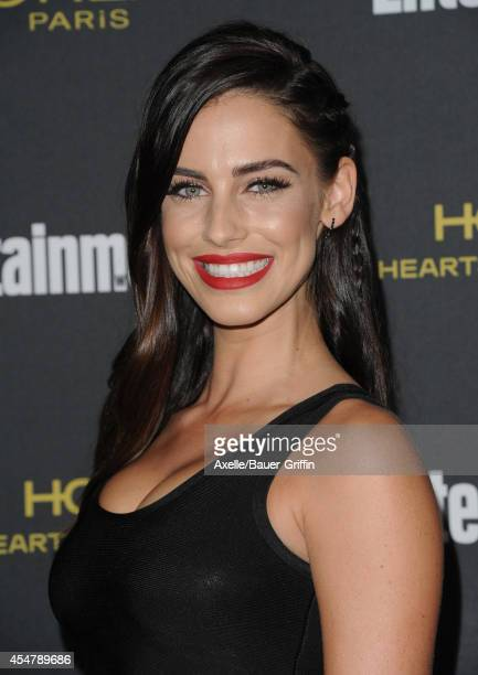 Actress Jessica Lowndes attends the 2014 Entertainment Weekly PreEmmy party at Fig Olive Melrose Place on August 23 2014 in West Hollywood California