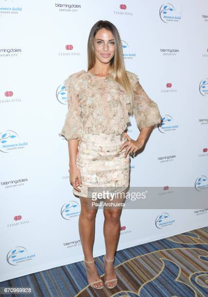 Actress Jessica Lowndes attends the 2017 Women's Guild CedarsSinai annual Spring luncheon at the Beverly Wilshire Four Seasons Hotel on April 20 2017...