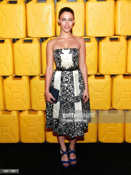 Actress Jessica Lowndes attends the 7th annual Charity Ball Benefiting CharityWater at the 69th Regiment Armory on December 10 2012 in New York City