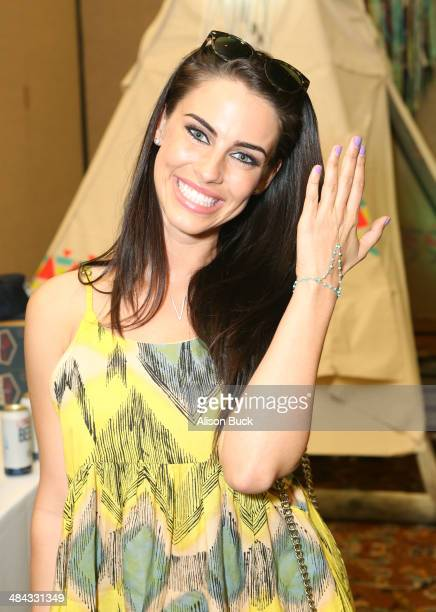Actress Jessica Lowndes attends the Kari Feinstein Music Festival Style Lounge at La Quinta Resort and Club on April 11 2014 in La Quinta California
