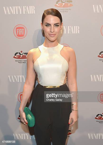 Actress Jessica Lowndes attends Vanity Fair and FIAT celebration of 'Young Hollywood' during Vanity Fair Campaign Hollywood at No Vacancy on February...