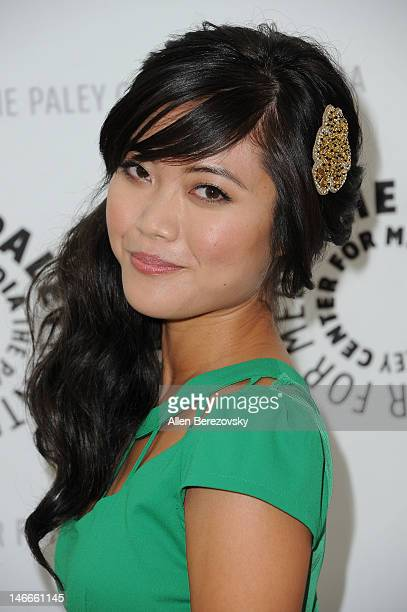 Actress Jessica Lu arrives at the season 2 premiere screening of MTV's comedy series 'Awkward' presented by The Paley Center for Media at The Paley...
