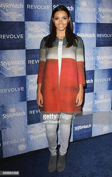 Actress Jessica Lucas arrives at the People StyleWatch 4th Annual Denim Awards Issue at The Line on September 18, 2014 in Los Angeles, California.