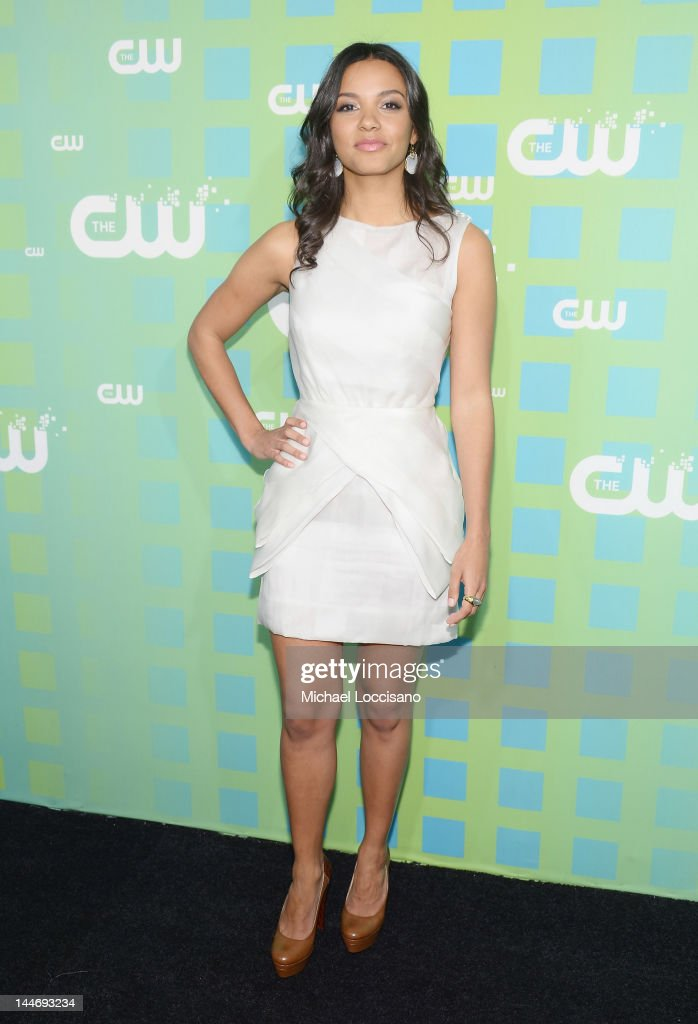 Actress Jessica Lucas attends The CW Network's New York 2012 Upfront at New York City Center on May 17, 2012 in New York City.