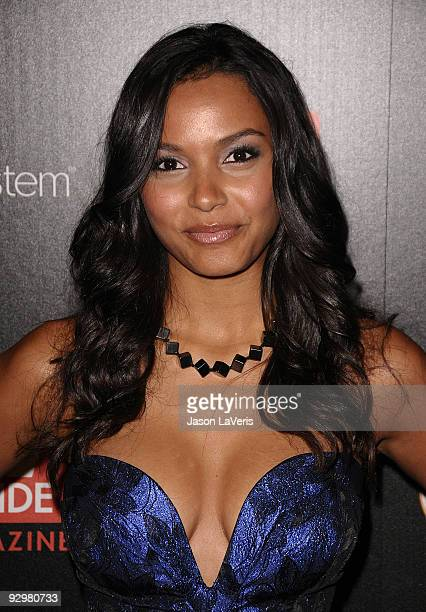 Actress Jessica Lucas attends TV Guide Magazine's Hot List Party at SLS Hotel on November 10 2009 in Beverly Hills California