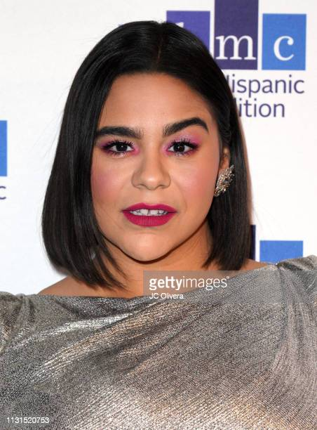 Actress Jessica Marie Garcia attends the 22nd Annual National Hispanic Media Coalition Impact Awards Gala at Regent Beverly Wilshire Hotel on...