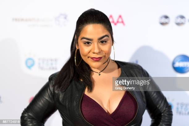 Actress Jessica Marie Garcia attends The Junior Hollywood Radio Television Society's 15th Annual Holiday Party at Le Jardin on December 6 2017 in...