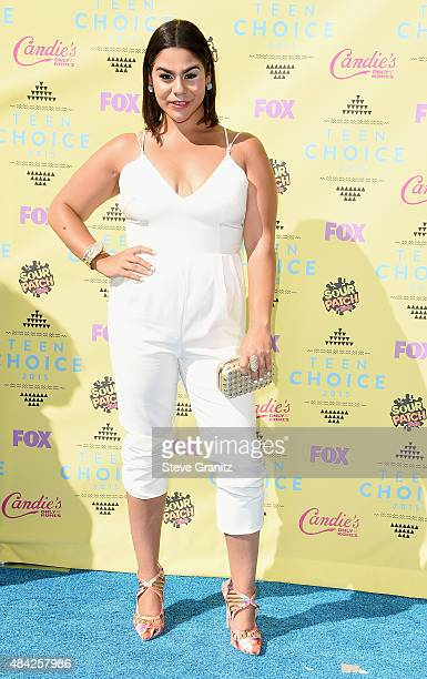 Actress Jessica Marie Garcia attends the Teen Choice Awards 2015 at the USC Galen Center on August 16 2015 in Los Angeles California
