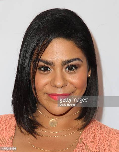 Actress Jessica Marie Garcia attends the TMA 2015 Heller Awards at the Hyatt Regency Century Plaza on May 28 2015 in Century City California