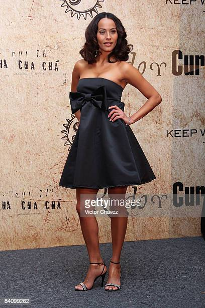 Actress Jessica Mas attends the premiere of Rudo y Cursi at the Teatro Metropolitan on December 10 2008 in Mexico City