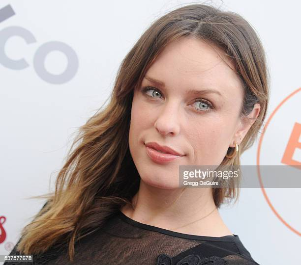 Actress Jessica McNamee arrives at Australians In Film Heath Ledger Scholarship Dinner on June 1 2016 in Beverly Hills California