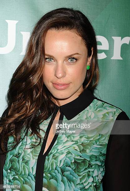 Actress Jessica McNamee attends the NBCUniversal 2015 Press Tour at the Langham Huntington Hotel on January 15 2015 in Pasadena California