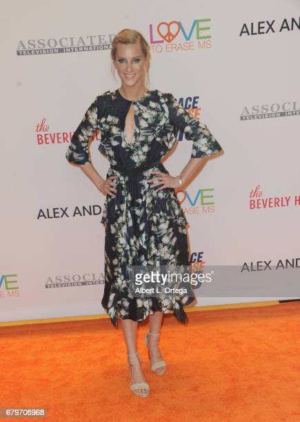 Actress Jessica Morris arrives for the 24th Annual Race To Erase MS Gala held at The Beverly Hilton Hotel on May 5 2017 in Beverly Hills California