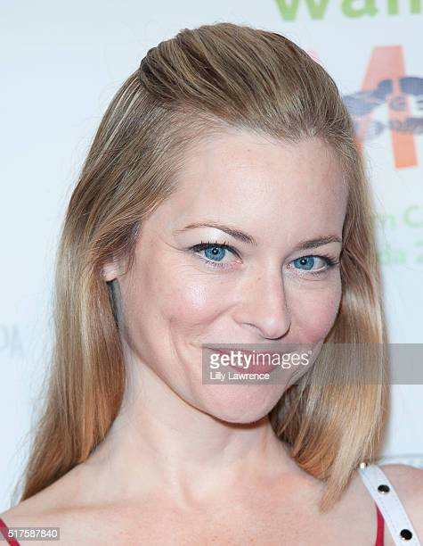 Actress Jessica Morris attends 3rd Annual LA's Walk MS Celebrity Kickoff Event at Bugatta Supper Club on March 25 2016 in Los Angeles California