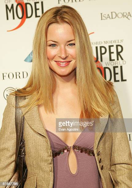 Actress Jessica Morris attends Ford Model's Supermodel of the Year contest at The Ford Tunnel January 12 2005 in New York City