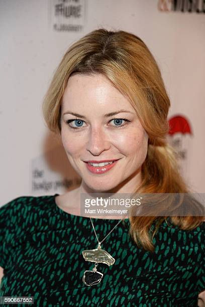 Actress Jessica Morris attends MJ Dougherty's 'Life Lessons from a Total Failure' book launch party at The Sandbox on August 16 2016 in Los Angeles...