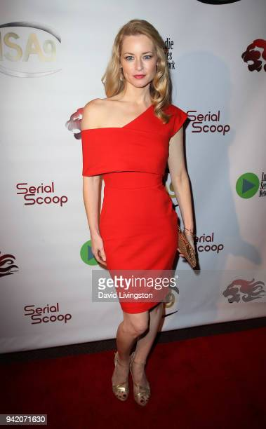 Actress Jessica Morris attends the 9th Annual Indie Series Awards at The Colony Theatre on April 4 2018 in Burbank California