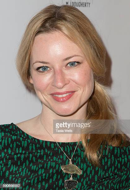 Actress Jessica Morris attends the launch party for MJ Dougherty's Life Lessons from a Total Failure at The Sandbox on August 16 2016 in Los Angeles...