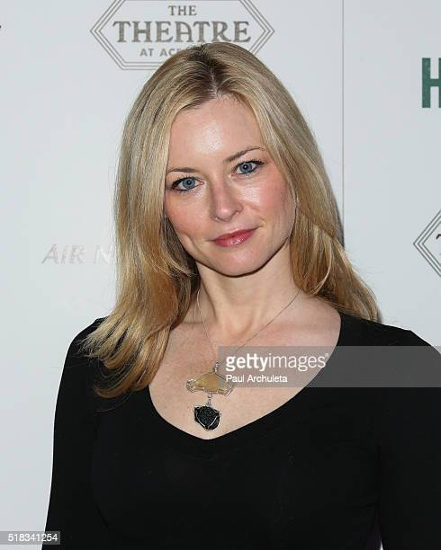 Actress Jessica Morris attends the premiere of Broad The Dark Horse at The Theatre at Ace Hotel on March 30 2016 in Los Angeles California