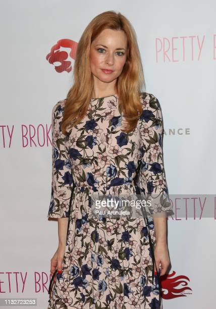 Actress Jessica Morris attends the premiere of Pretty Broken at the Laemmle NoHo 7 on February 27 2019 in North Hollywood California