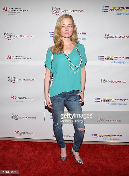 Actress Jessica Morris attends the premiere of Red Compass Media's film The Lost Tree at Laemmle NoHo 7 on March 18 2016 in North Hollywood California