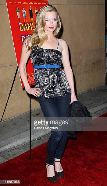 Actress Jessica Morris attends the premiere of Sony Pictures Classics' Damsels in Distress at the Egyptian Theatre on March 21 2012 in Hollywood...
