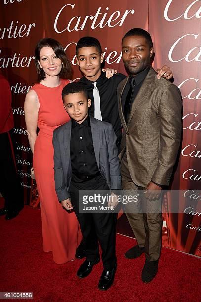 Actress Jessica Oyelowo Caleb Oyelowo Asher Oyolewo and actor David Oyelowo attend the 26th Annual Palm Springs International Film Festival Awards...