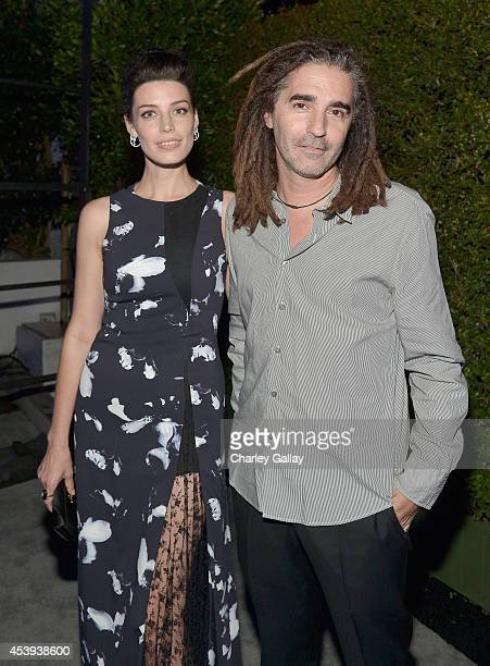 Actress Jessica Pare and John Kastner attend Audi's Celebration of Emmys Week 2014 at Cecconi's Restaurant on August 21 2014 in Los Angeles California