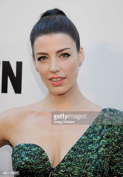 Actress Jessica Pare arrives at AMC's 'Mad Men' Season 7 premiere at ArcLight Cinemas on April 2 2014 in Hollywood California