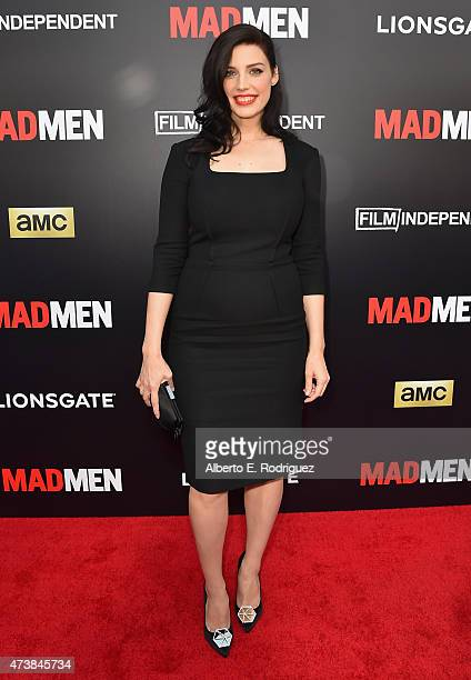 Actress Jessica Pare attends AMC Film Independent and Lionsgate Present Mad Men Live Read at The Theatre at Ace Hotel Downtown LA on May 17 2015 in...