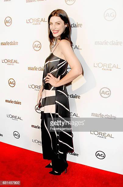 Actress Jessica Pare attends Marie Claire's Image Maker Awards 2017 at Catch LA on January 10 2017 in West Hollywood California
