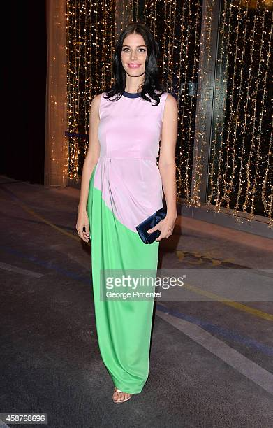 Actress Jessica Pare attends the 21st Annual Scotiabank Giller Prize on November 10, 2014 in Toronto, Canada.