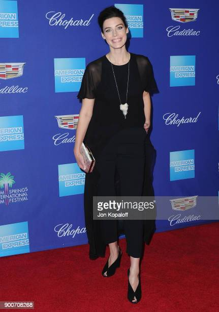 Actress Jessica Pare attends the 29th Annual Palm Springs International Film Festival Awards Gala at Palm Springs Convention Center on January 2 2018...