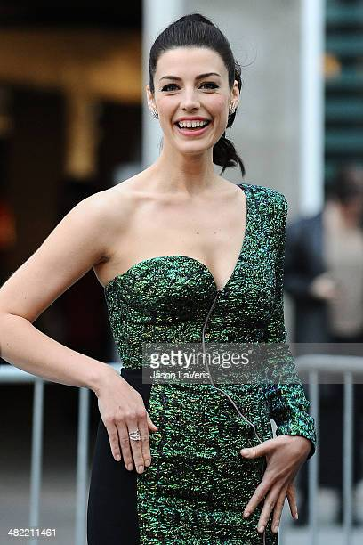Actress Jessica Pare attends the season 7 premiere of Mad Men at ArcLight Cinemas on April 2 2014 in Hollywood California