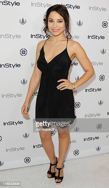 Actress Jessica Parker Kennedy arrives at the 13th Annual InStyle Summer Soiree at Mondrian Los Angeles on August 14 2013 in West Hollywood California
