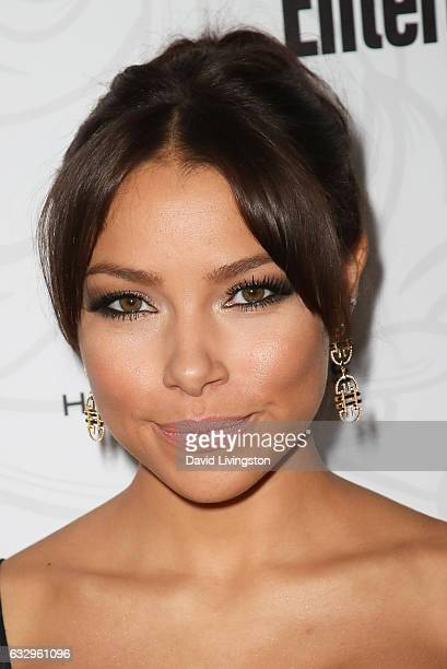 Actress Jessica Parker Kennedy arrives at the Entertainment Weekly celebration honoring nominees for The Screen Actors Guild Awards at the Chateau...