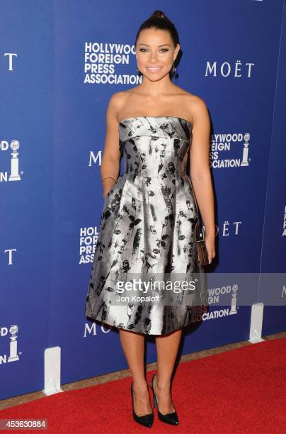 Actress Jessica Parker Kennedy arrives at The Hollywood Foreign Press Association Installation Dinner at The Beverly Hilton Hotel on August 14 2014...