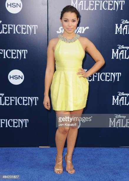 Actress Jessica Parker Kennedy arrives at the Los Angeles Premiere Maleficent at the El Capitan Theatre on May 28 2014 in Hollywood California